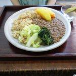 8090416 - レンズ豆のエチオピア定食