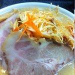零一壱 - 味噌ネギチャーシュー麺、チャーシュー寄りで