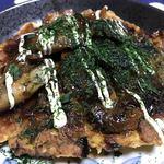 元気焼 - 料理写真:牡蠣のお好み焼き