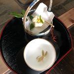 春蘭亭 - 料理写真:春蘭茶&和菓子セット