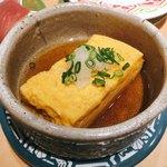 金沢回転寿司 輝らり - 金沢おでん 卵焼き 220円
