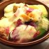 こだわり野菜のラクレットチーズ焼き