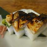 80902262 - 焼鯖寿司(三貫650円)