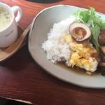 カフェコマチ - スープ付き +300円