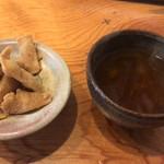 80903278 - 蕎麦菓子と蕎麦茶
