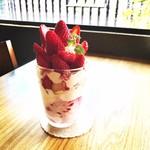 千里香 - 料理写真:苺が美味しい時季限定『苺スペシャル』
