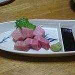 弥生寿司 - 料理写真:中トロ刺身