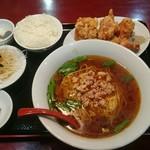 美浜 - 料理写真:唐揚げ定食820円