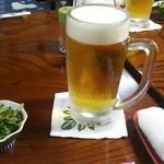 一休 - 私の生ビール(^-^)v