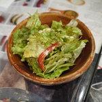トリプルアール グリルキッチン - セットのサラダ