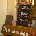 Bon courage -