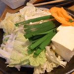 しゃぶしゃぶ温野菜 - お野菜のセット