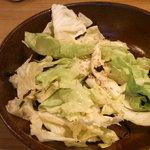 しゃぶしゃぶ温野菜 - 塩キャベツ