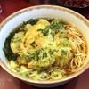 丹波屋 - 料理写真:【再訪】かき揚げそば