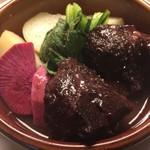 ワイン食堂 がっと - 国産牛ほほ肉の赤ワイン煮
