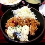 金の蔵 - (ランチ) チキン南蛮定食¥600 2017.12.28