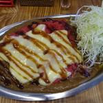 キングダムカレー - チーズトマトカレー(並)