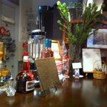 デザートカフェ ユウタ - 小物も含めて、とても素敵な店内♪