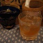 居酒屋 くさち - 梅酒はデキャンタで