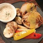 ビトレス - 野菜の鉄板焼き おまかせ5種盛り