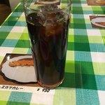 ボンゾ - アイスコーヒー。 サービスです✧*。