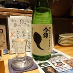 ぽろ ホームメイドキッチン - 今錦純米生原酒(650円/0.7合)