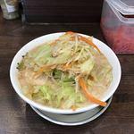 二十九代目 哲麺 - 野菜たっぷりラーメン(680円)