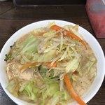 二十九代目 哲麺 - 野菜たっぷりラーメン接写!