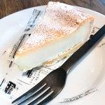 マカロニカフェ&ベーカリー - ホワイトチョコレートのタルト