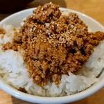 ラーメン並木 - ピリ辛丼(ネギ抜き)※平日ランチサービス