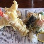 レストラン櫻 - 天麩羅アップ