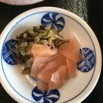 レストラン櫻 - 漬物