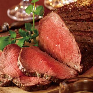 厳選国産和牛を使用した肉料理が自慢!ワインも多数ご用意♪
