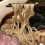 Homemade Ramen Muginae - 麺アップ