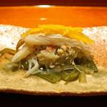 いち太 - 松葉蟹の味噌和え