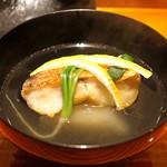 いち太 - 甘鯛と淀大根のお椀