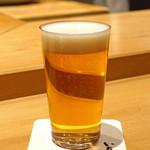 いち太 - 生ビール