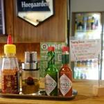 ビアバル HOUSE of BEER - チキンオーバーライス用調味料