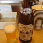 8093066 - 瓶ビール中瓶(\600)