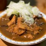 岸田屋 - 料理写真:2018.2 牛にこみ(500円)