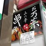 山六亭 - ビル案内板