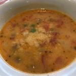 アントニオ - ★★★ ランチのスープ ミネストローネ  お豆が沢山入ってました