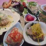 レストラン マリー - 仕入れによってオードブルの内容は日々変わります。