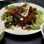 一創 - 黒酢の酢豚セット