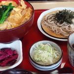 サガミ - 名古屋コーチン丼とざるそば
