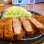 とんかつ武信 - ロースかつ膳(松 170g) 1,600円