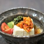 鉢山 - 鉢山特製韓国風冷やっこ