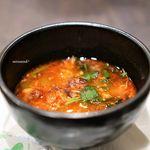 鉢山 - コムタンスープ(黒毛和牛テールスープ)