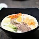 鉢山 - 豆乳冷麺