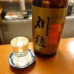 立呑み お酒の神様 - 刈穂(500円/0.5合)